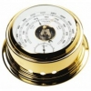 220mm Brass Barometer Gold plated