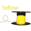 ALM-4/0100Y 4/0 Yellow Boat Cable 100' Spool