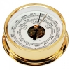 95mm Brass Barometer Gold plated