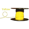 ALM-6100Y #6 Yellow Boat Cable100' Spool