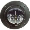 Bulkhead Mount Compass 100mm Black