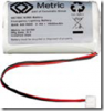 Coromatic batterypack Ni Mh for LED 2,4V 1200mAh