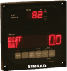 Simrad SAL SD4-3,Easy to read LED bridge Speed and distance